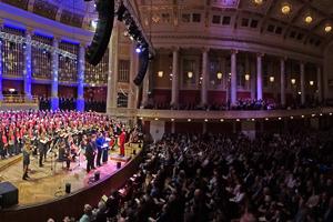 Wiener Konzerthaus mit Singing Generations, Leitung Veronika Schmid, Weihnachtsgala