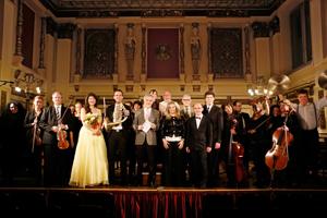 Orchesterkonzert der Harmonia Classica, KuenstlerOrchester Wien; Alexander Blechinger, Dirigent; Monika Medek, Sopran; Boris Pelikan, Horn;