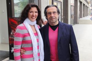 Monika Medek mit Riccardo Muti