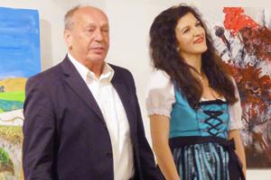 Monika Medek und KS Michael Pabst... Lippen schweigen nicht!